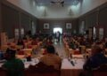 Bupati Banggai Amirudin Tamoreka akhirnya bisa merasa lega, setelah menghadiri sebuah pertemuan di Dinas Tanaman Pangan dan Hortikulturan (TPHP) Kabupaten Banggai, Kamis (21/10/2021).